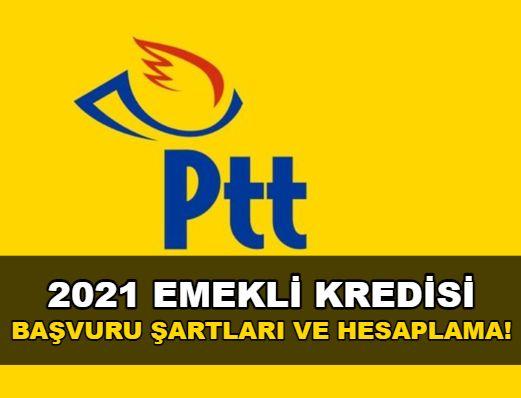 PTT emekli kredisi hesaplama