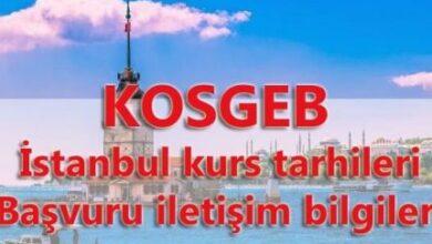 KOSGEB İstanbul Girişimcilik Eğitim Başlama Tarihleri