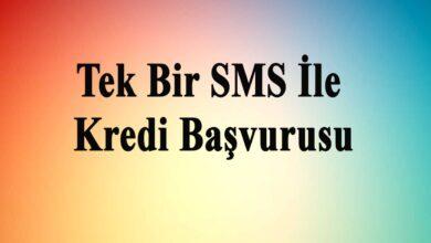 SMS İle İhtiyaç Kredisi Başvurusu Yapma