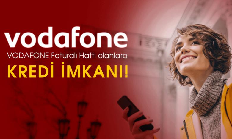 Vodafone İstanbul ve Bursa Faturalı Hatlara Kredi İmkanı
