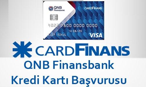 QNB Finansbank Kredi Kartı Başvurusu İçin SMS Numarası